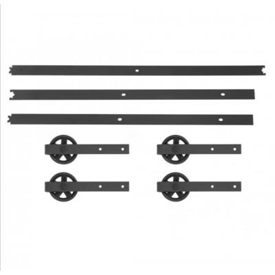 Dubbel railsysteem 244 cm met spaak rollers